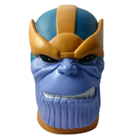 Marvel Heroes Coin Bank Thanos Head Previews Exclusive 25 cm
