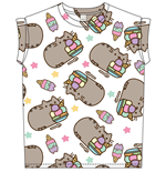 Pusheen Ladies T-Shirt Ice Cream