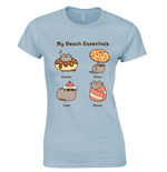 Pusheen T-shirt Beach Essentials
