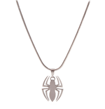 Marvel - Spider-man Logo Silver Necklace