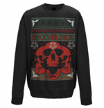 Black Veil Brides Sweatshirt Christmas Skulls
