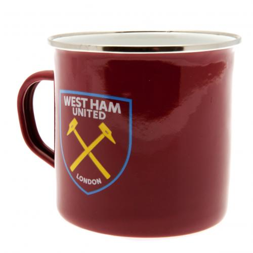 West Ham United F.C. Tin Mug