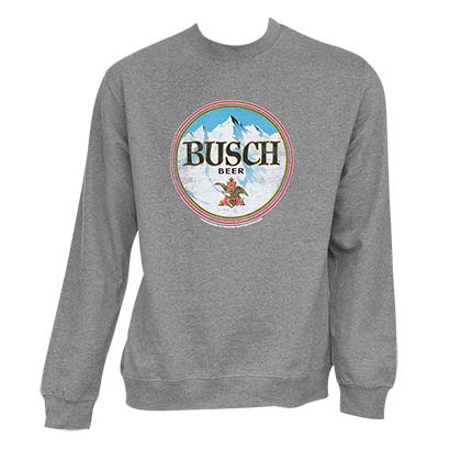 BUSCH Grey Crewneck Sweatshirt