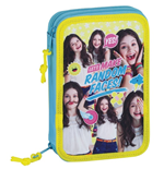 Soy Luna (Faces) pencil case double filled