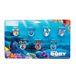 Finding Dory Set of Earrings and Rings Stickers for the Whole Week