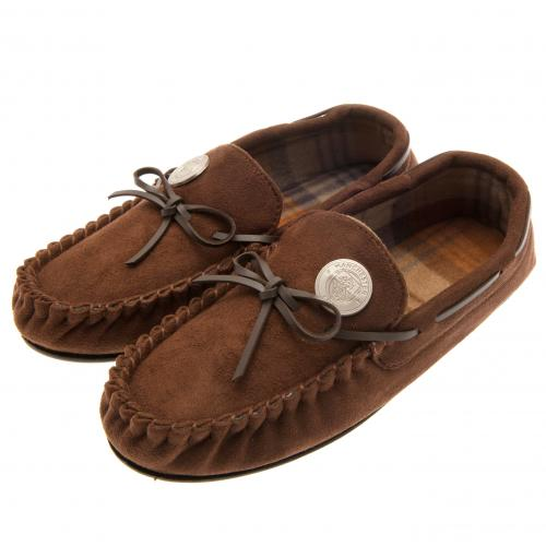 Manchester City F.C. Moccasins Mens 9/10
