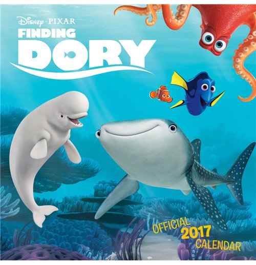 Finding Dory Calendar 2017 *English Version* for only C ...