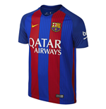 2016-2017 Barcelona Home Nike Shirt (with sponsor)