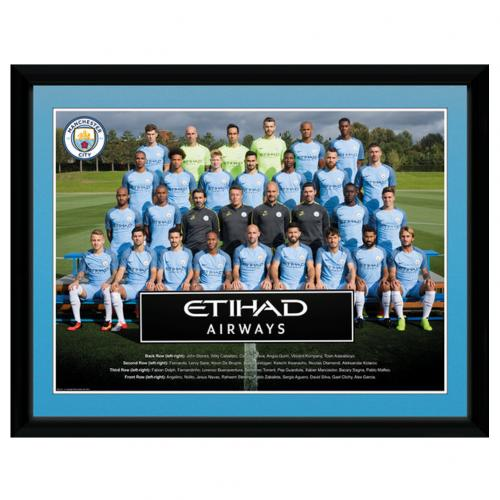 Manchester City F.C. Picture Squad 16 x 12