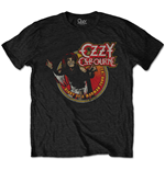 Ozzy Osbourne Men's Special Edition Tee: Diary of a Madman Tour 1982