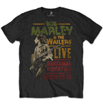 Bob Marley Men's Special Edition Tee: Rastaman Vibration Tour 1976