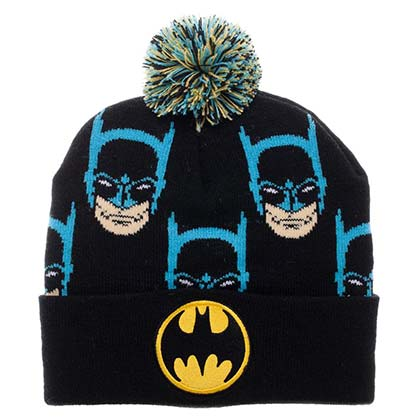 BATMAN Reapting Faces Pom Pom Winter Beanie