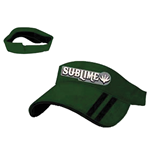 Sublime - Green Washed Leaf Visor