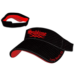 "Sublime - Black """"Long Beach"""" Visor"""