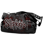 Slipknot - Ladies Bag Chain Black w/ Red Logo