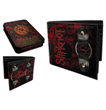 Slipknot - Black/Red Tin Wallet w/ Ring