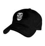 Misfits- Black Flex Cap With Metal Badge