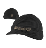 Fall Out Boy - Black Billed W Emb Beanie
