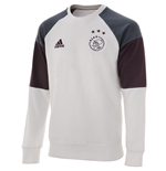 2016-2017 Ajax Adidas Sweat Top (White)