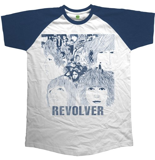 The Beatles Men's Raglan Tee: Revolver