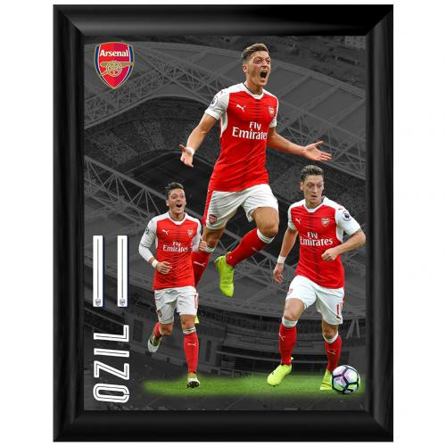Arsenal F.C. Framed Print Ozil 16 x 12