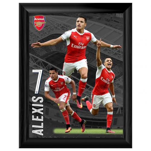 Arsenal F.C. Framed Print Sanchez 16 x 12