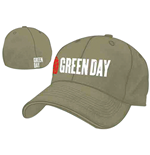 Green Day - Grenade Logo Grey Flex Cap