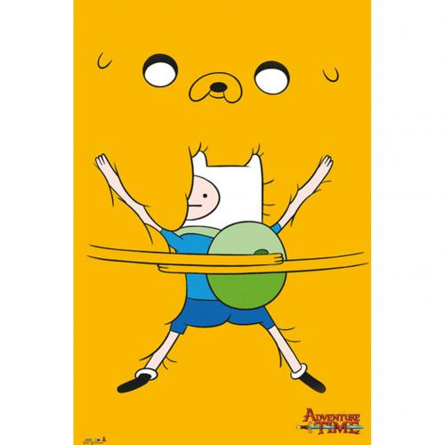 Adventure Time Poster Bro Hug 272
