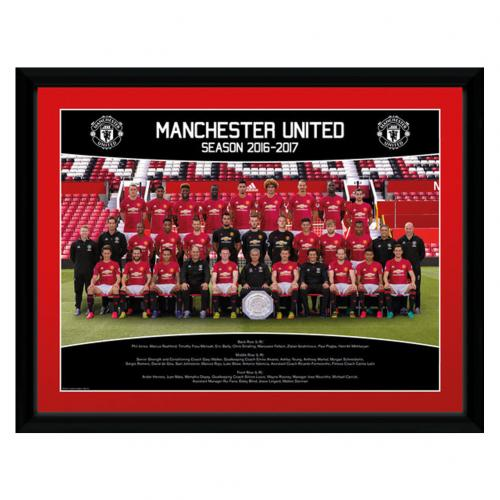 Manchester United F.C. Picture Squad 16 x 12