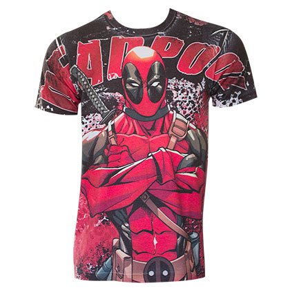 DEADPOOL Sublimation Tee Shirt