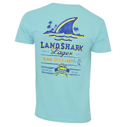 LANDSHARK Mint Green Logo Tee Shirt