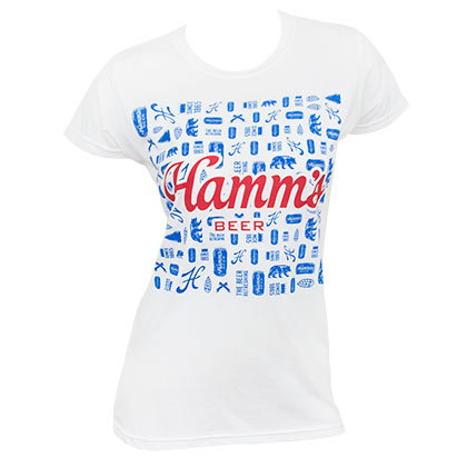 HAMM'S Abstract Women's Tee Shirt