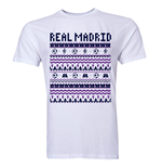 Real Madrid Christmas T-Shirt (White) - Kids
