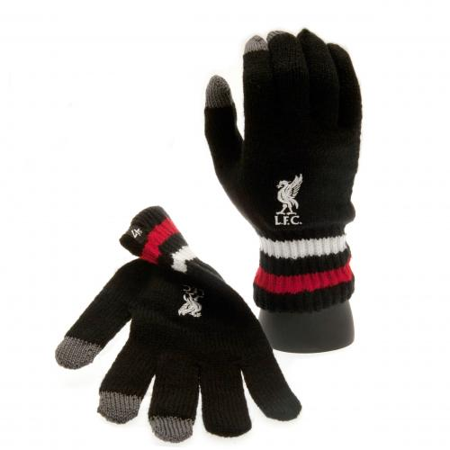 Liverpool F.C. 47 Brand Knitted Gloves Adult