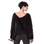 Cape Style Longsleeved Top