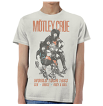 Motley Crue Men's Tee: World Tour Vintage