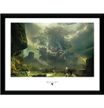 Destiny - The Fortress Framed Picture (30x40 Cm)