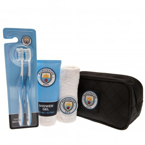 Manchester City F.C. Toiletries Bag Gift Set