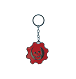 Gears Of War - Skull Logo Metal Keychain