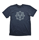 GEARS OF WAR 4 Men's Phoenix Omen Symbol T-Shirt, Medium, Navy Blue