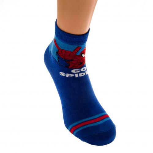 Spider-Man Boys Socks 1 Pack Junior 4-6.5