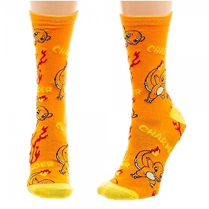 POKEMON Charmander Crew Socks