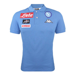 2016-2017 Napoli Cotton Polo Shirt (Sky Blue) - Kids