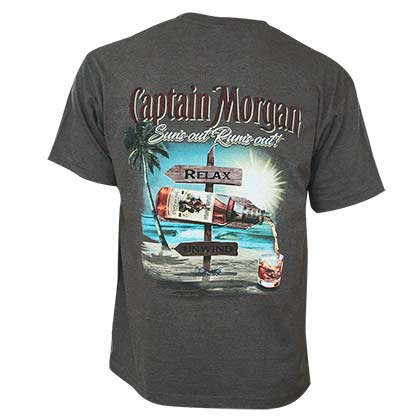 CAPTAIN MORGAN Suns Out Rums Out Tee Shirt