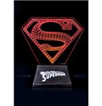 DC Comics Acrylic Table Light Superman Edge Logo 18 cm