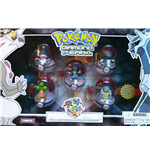 Pokemon Diamond and Pearl PVC Keychains 5-pack