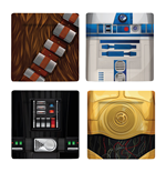 Star Wars Coaster 4-Pack Characters