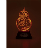 Star Wars Episode VII Acrylic Table Light BB-8 18 cm