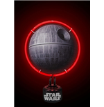 Star Wars Neon Light Death Star 22 x 31 cm