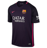 2016-2017 Barcelona Away Nike Shirt (Kids) - with sponsor